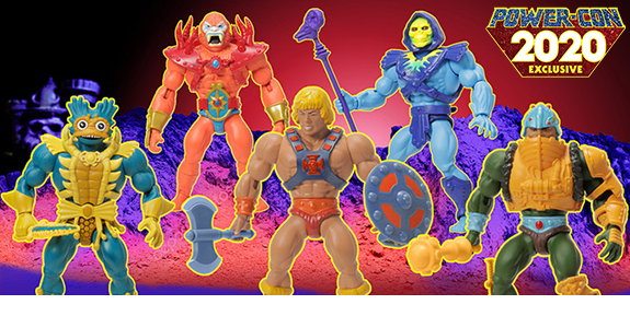 Masters of the Universe Lords of Power Power-Con 2020 Limited Edition Exclusive Five-Pack