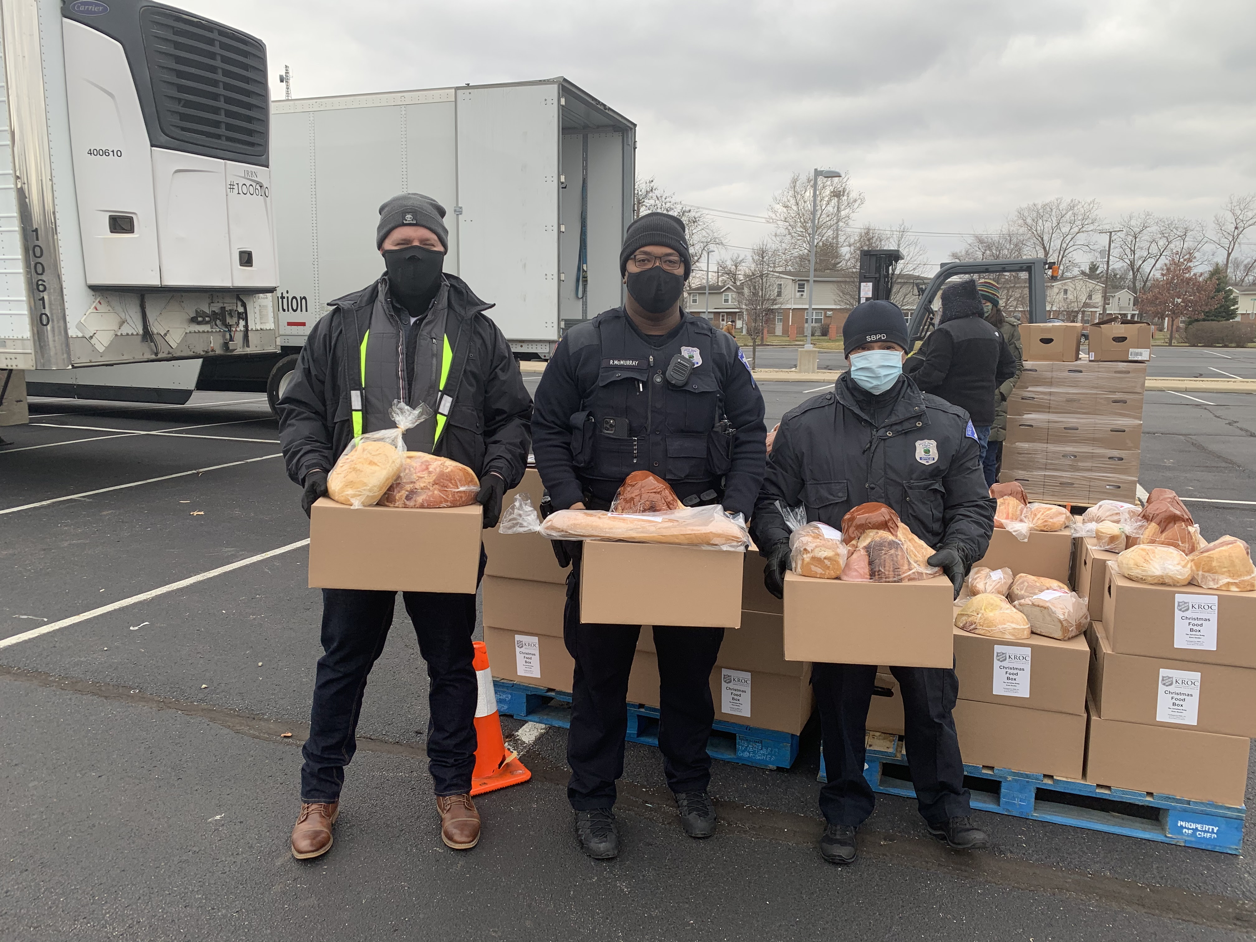 How these cops helped families in need