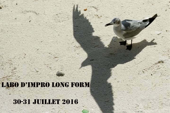 """LABORATOIRE D'IMPROVISATION FORMAT LONG"""