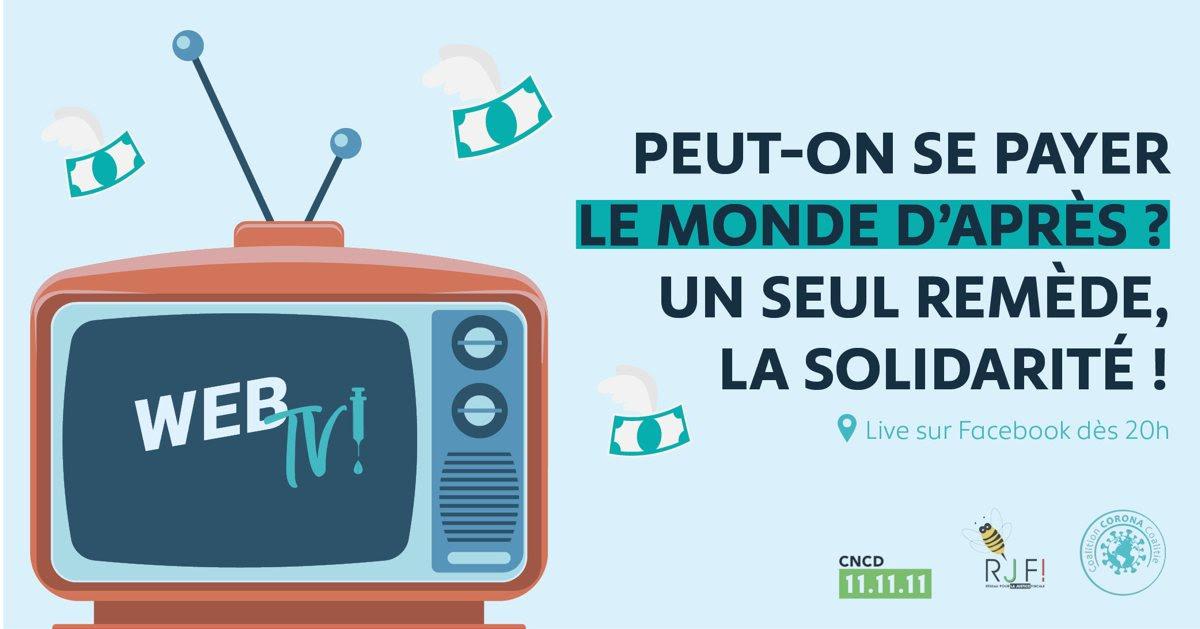 [WebTV] Peut-on se payer le monde d'après ? Un seul remède, la solidarité.