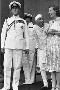 Mountbatten et Nehru
