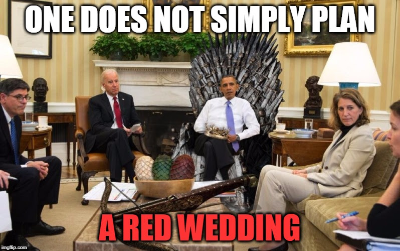 Obama Is Coming Back for the Red Wedding (Videos)