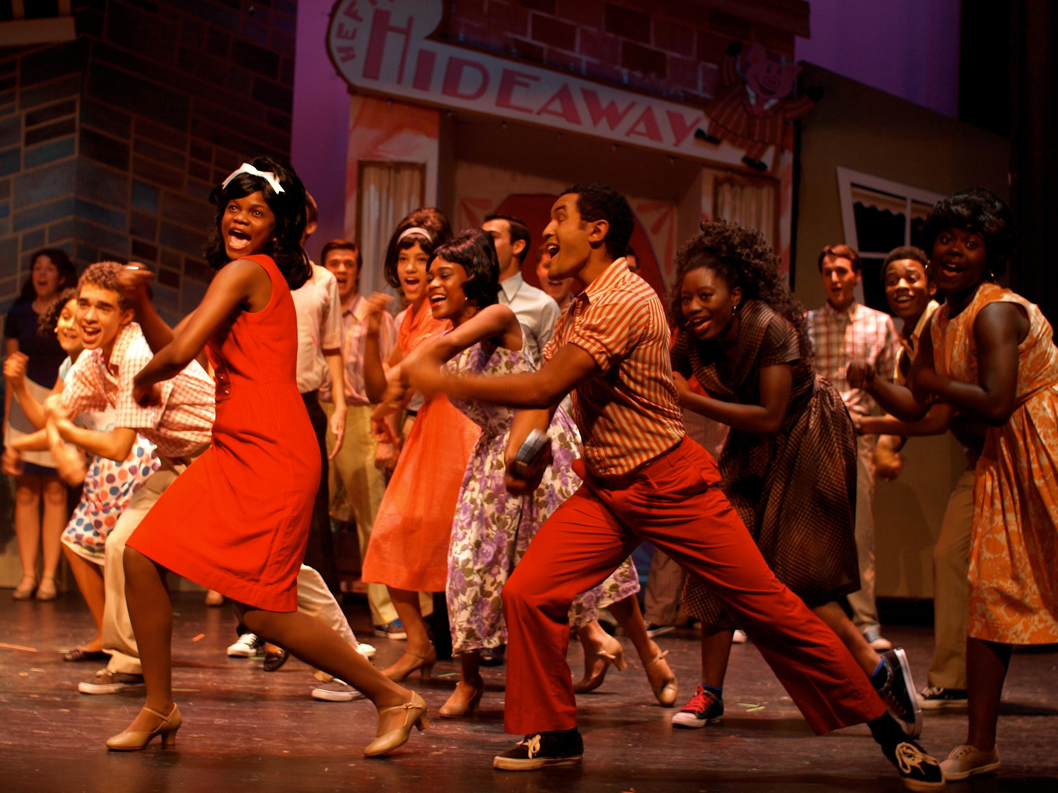 The Company Theatre's production of Hairspray, 2011, image by Zoe Bradford