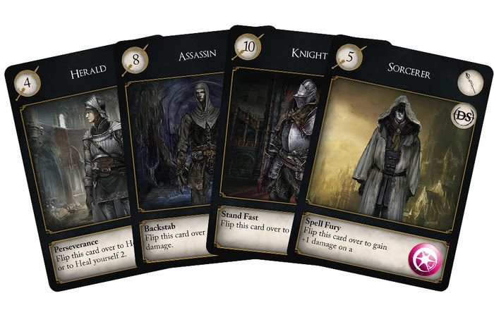 Players may assume the class of a Herald, Assassin, Knight or Sorcerer - each giving a powerful in-game ability.
