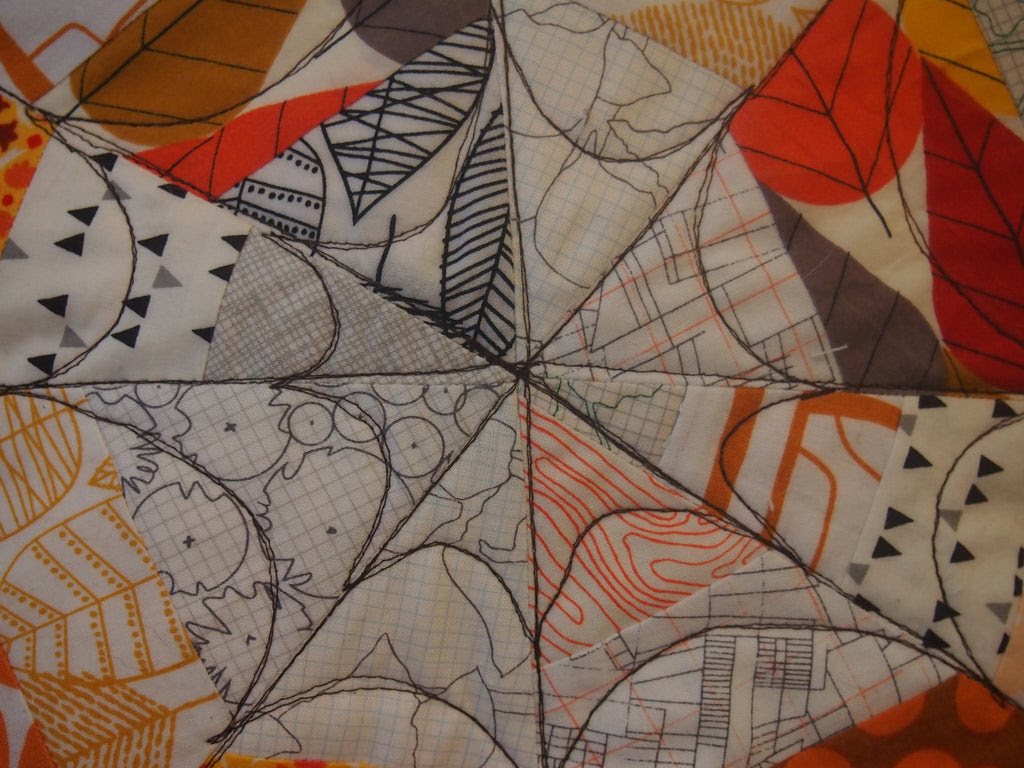 Quilted Spiderweb Pillow Cover - Adult - Monday, October 20th - 6:30 to 9:30 pm - Intermediate/Advanced