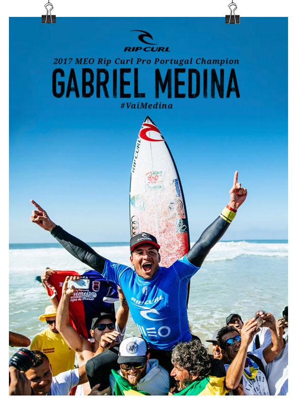Congratulations Gabriel Medina!