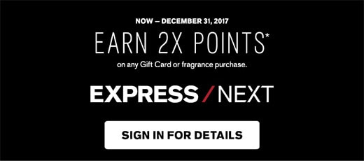 Earn 2X Points on any Gift Card or Fragrance purchase. Sign in for details.