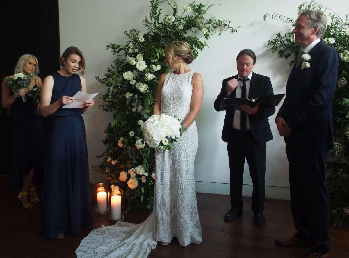photo of the wedding