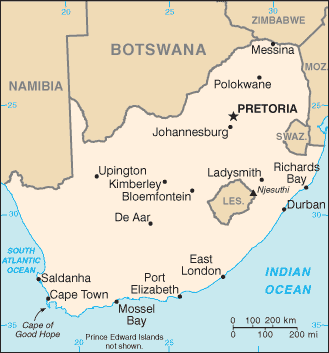 South Africa/CIA