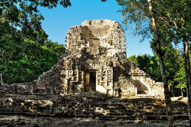 Chicanná: La Casa de la Boca de la Serpiente de los Mayas