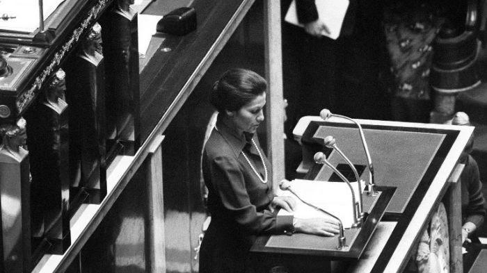 Simone Veil en 1974