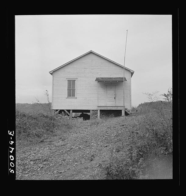 Negro school. Scotts Run, West Virginia