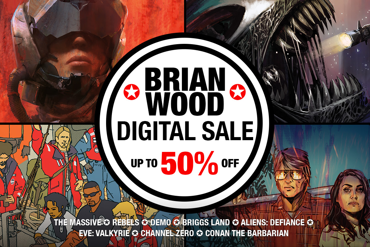 Brian Wood Digital Sale
