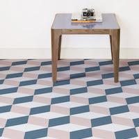 Cube | Geometric 3D Cube Vinyl Flooring