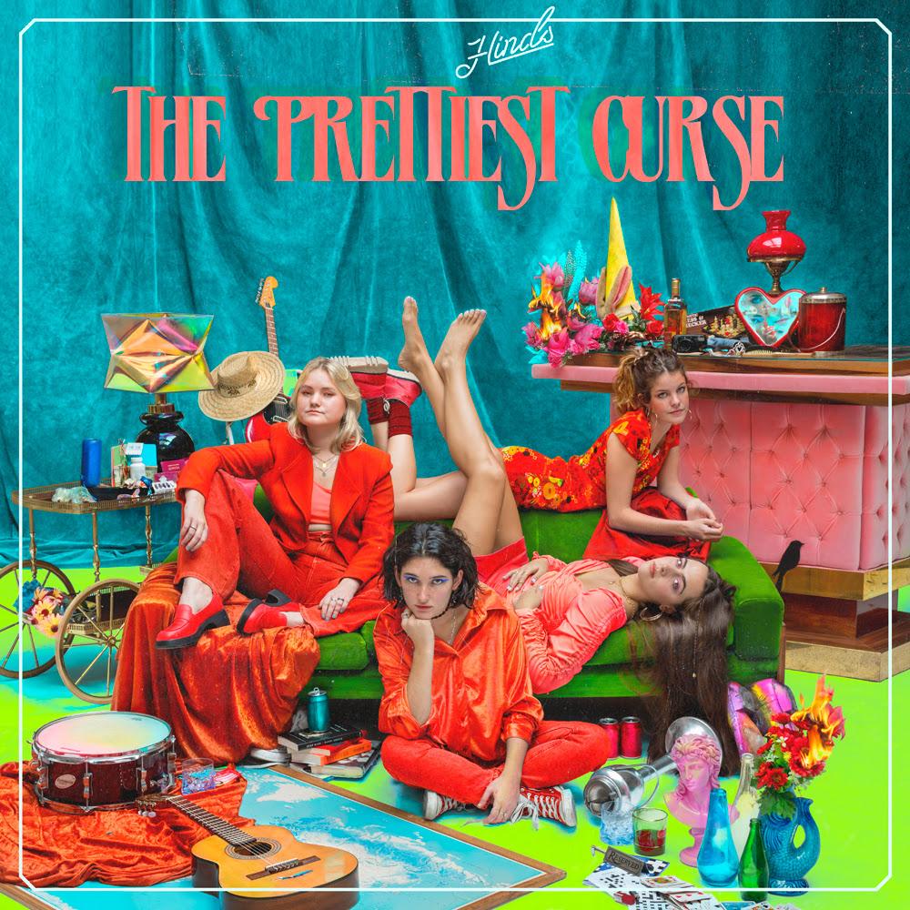 Carátula del nuevo trabajo de Hinds:  The Prettiest Curse