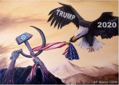 branco trump 2020 eagle