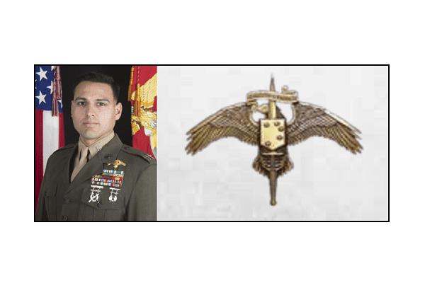 Captain Moises Navas, 2nd Marine Raider Battalion, MARSOC, KIA Iraq