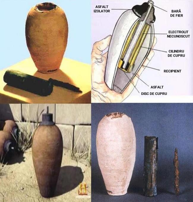 obiecte misterioase, bateria din Bagdad