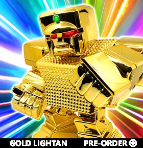 Golden Warrior Gold Lightan Bulkyz Gold Lightan Figure
