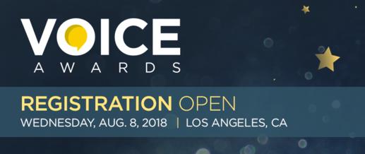 2018 Voice Awards banner