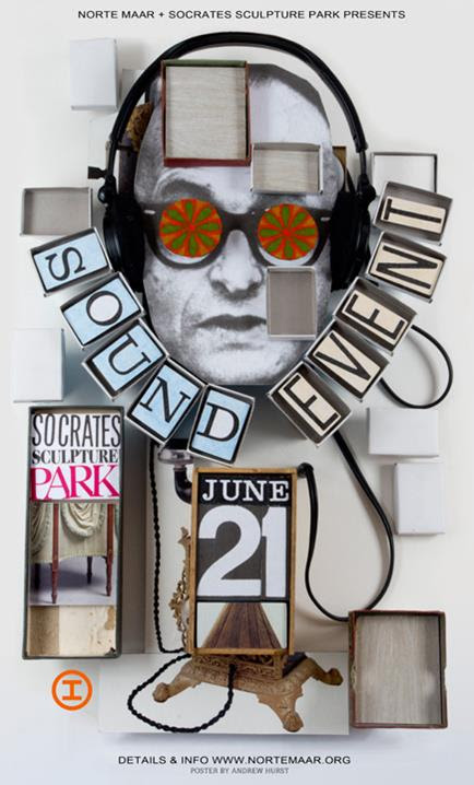 Sound Event, Socrates Sculpture Park, Norte Maar, solstice, summer, experimental sound