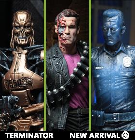 Terminator 2 Kenner Tribute Set of 3 Figures