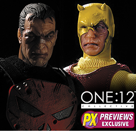 ONE:12 MARVEL COLLECTIBLE FIGURES