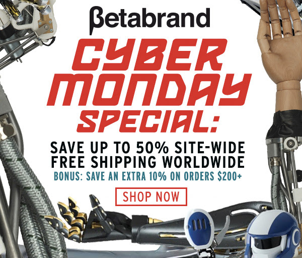 Cyber Monday Special: Save up to 50% on everything!