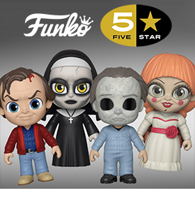 FUNKO 5 STAR HORROR FIGURES