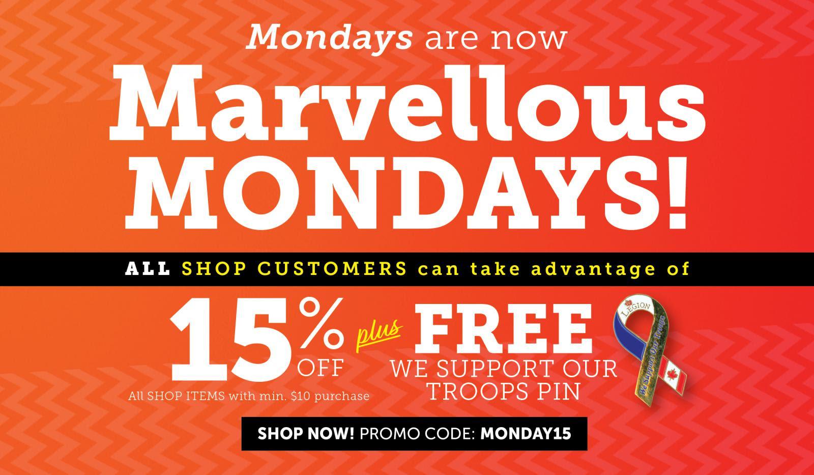 Marvellous Mondays!