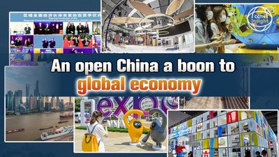 An open China is a boon to global economy (PRNewsfoto/CGTN)