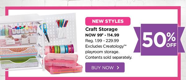 Craft Storage. Buy Now