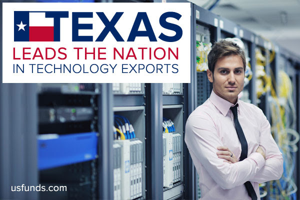 Texas Leads the Nation in Technology Exports