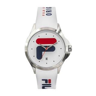 Fila 40mm Unisex Analogue Rubber Sports Watch (38181003) - White