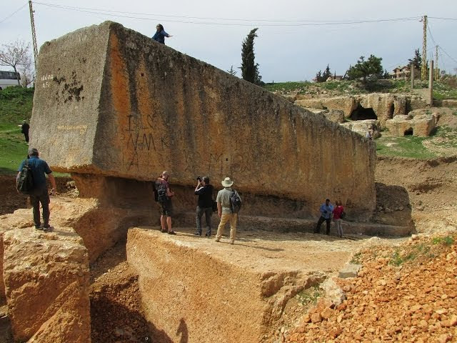 Baalbek In Lebanon: The Largest Known Megalithic Stone In The World  Sddefault