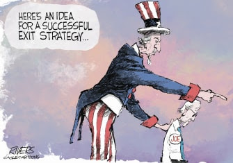 Uncle Sam exit