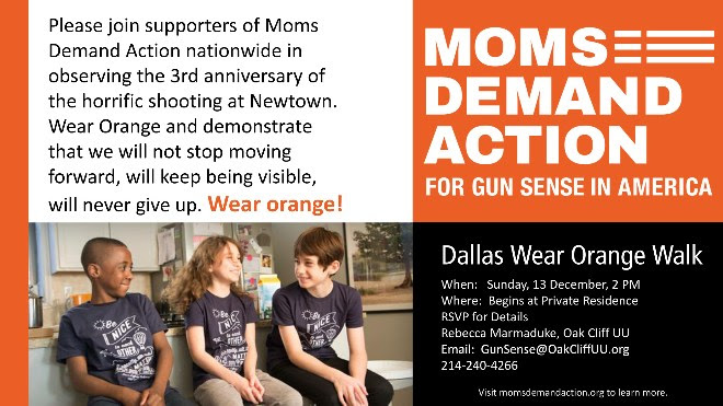 Moms Action Flyer Image