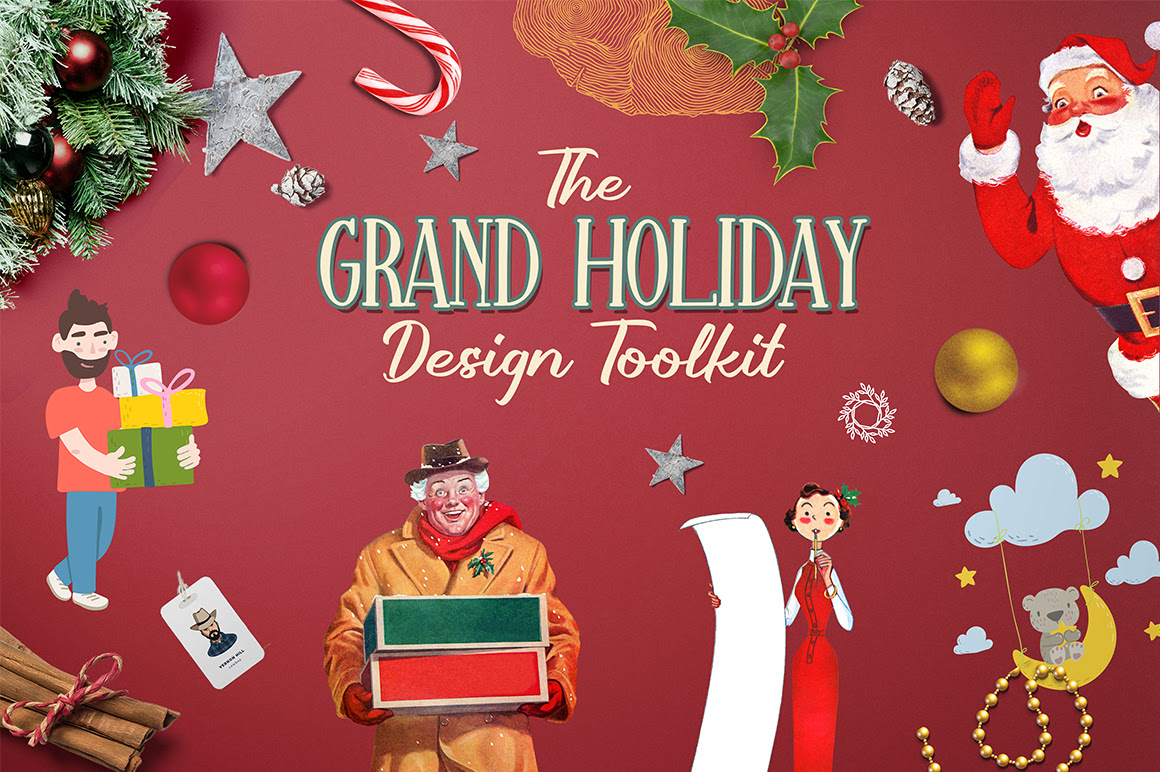 The Grand Holiday Design Toolkit Pixelo Bundle Discount Coupon