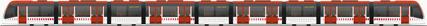 tren urbos 100 con 9 coches