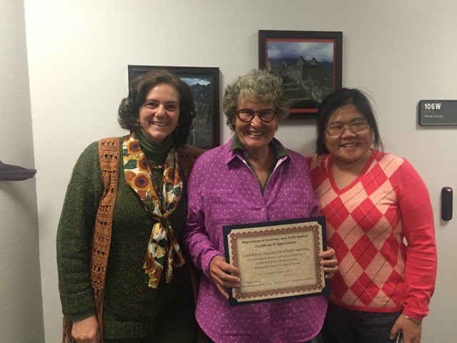Dr. Julie Reyes, Carol Patrick and Dr. Ting Jiang