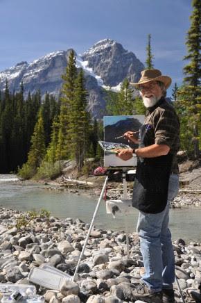 Mark Hobson in the Rockies