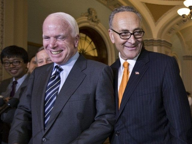 McCain Wants Congress to Pass 'Gang of Eight' Amnesty Bill When He Returns