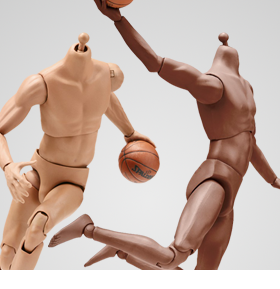 Super-flexible Basketball Player 1/6 Scale Bodies