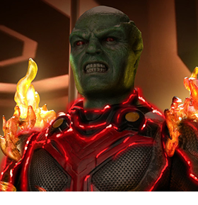 Supergirl (TV Series) Real Master Series Martian Manhunter 1/8 Scale Figure