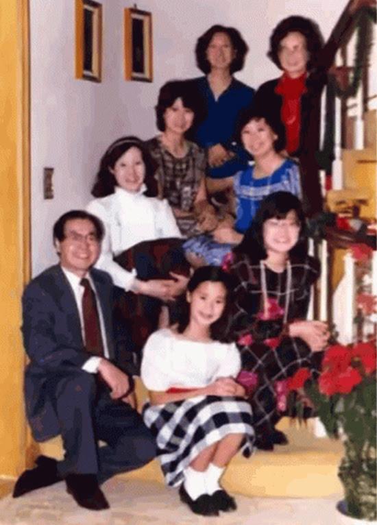 Gia đình của 'Vua tàu biển' Triệu Tích Thành.