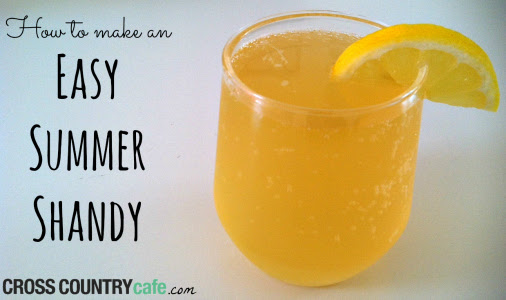 How to make an easy summer shandy using Keurig K-cups