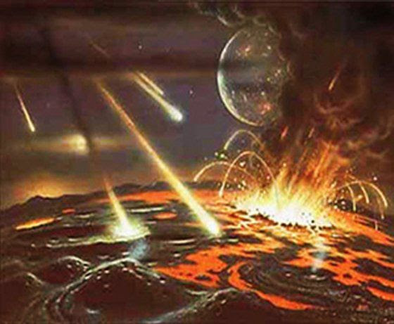 Meteorite impacts on Planets