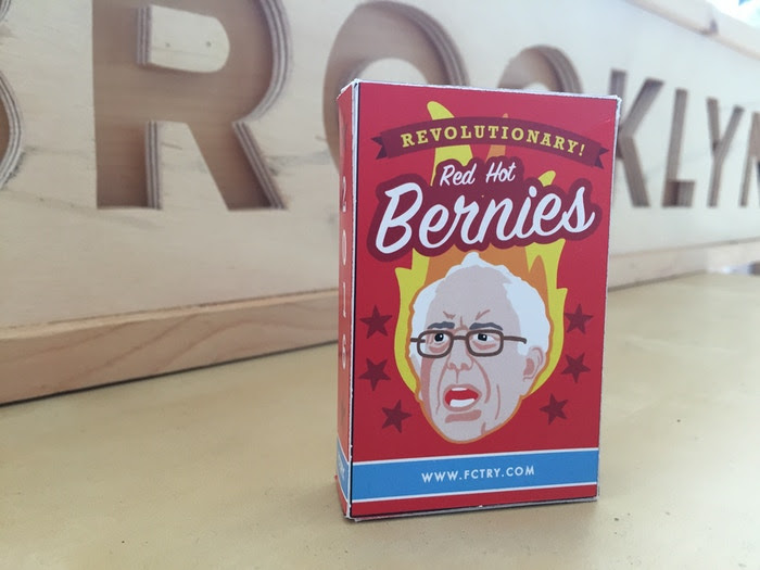 Fired up for some Red Hot Bernies?