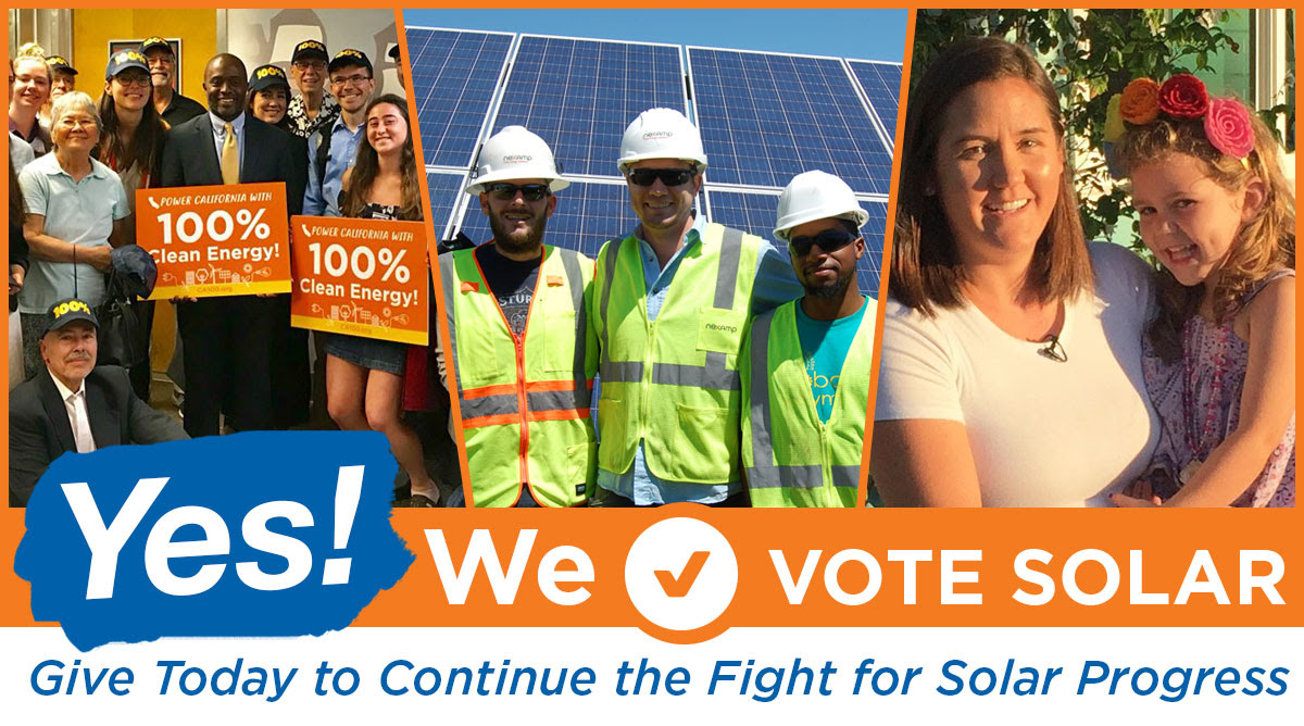 WE Vote Solar