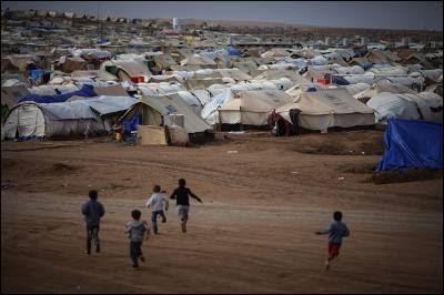 El campamento de refugiados de Domiz, en el Kurdistán iraquí, que acoge a miles de refugiados sirios.